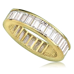Classic eternity band suitable for any occassion. Channel-set ...